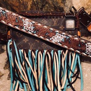 LV custom made cross over Boho look
